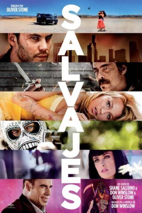 """""""Salvajes"""": un Thriller del director Oliver Stone, que nos cuenta la his..."""