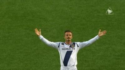 David Beckham mano a mano con el Conde K