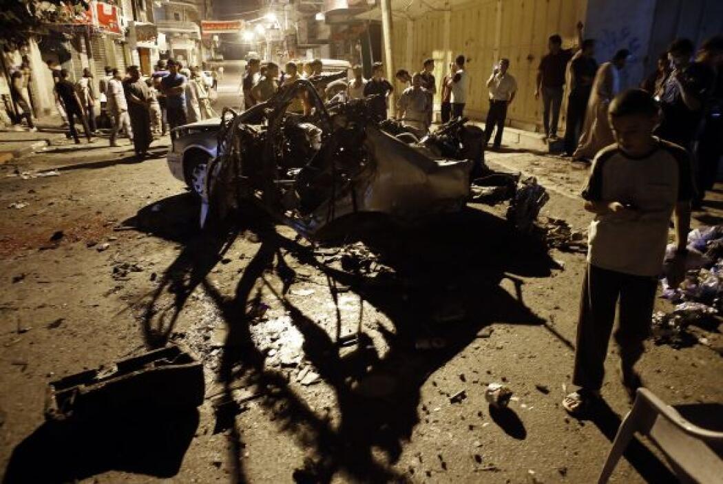Aviones de combate israelíes   atacaron   Gaza