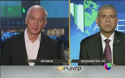 Jorge Ramos habla con Maen Areikat sobre crisis entre Palestina e Israel
