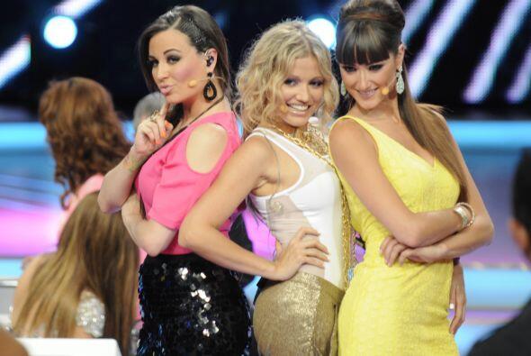 María José, Fanny Lu y Raquel Ortega, sin duda aparte de talentosas son...