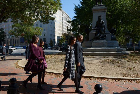Desde su llegada a la Casa Blanca Michelle Obama ha llamado la atención...