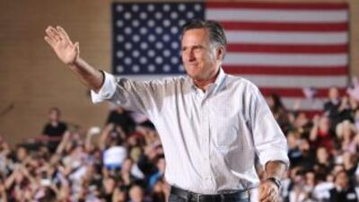 Mitt Romney prevé continuar su gira por Colorado con un mitin mañana en...