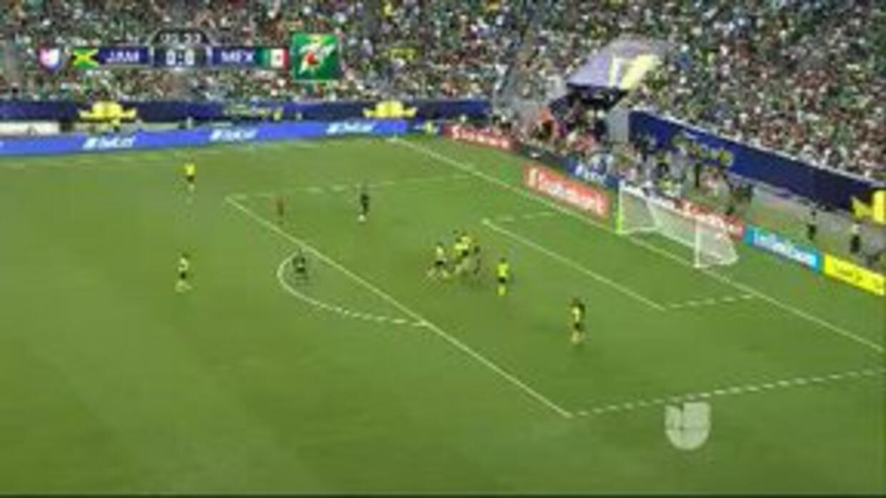 Highlights:México at Jamaica on July 26, 2015