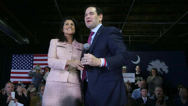 Carolina del Sur, la encrucijada para los candidatos republicanos GettyI...