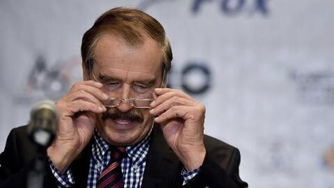 Vicente Fox se disculpa con Donald Trump
