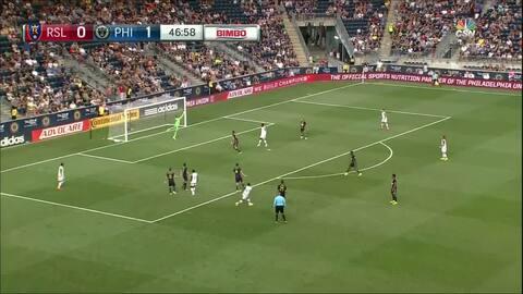 Espectacular gol de pica barra del ecuatoriano Joao Plata