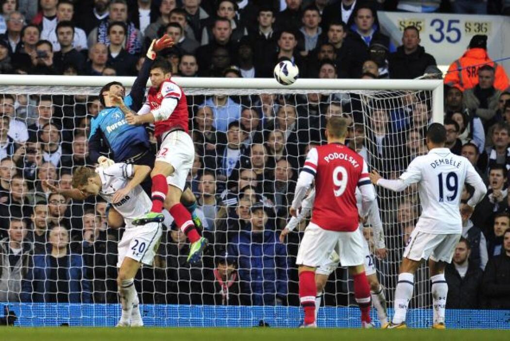 El arquero del Tottenham se hizo notar para que los 'Spurs' derrotaran a...