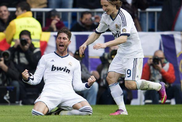 Sergio Ramos destaba la pasión del Bernabéu que veía a su equipo hundir...