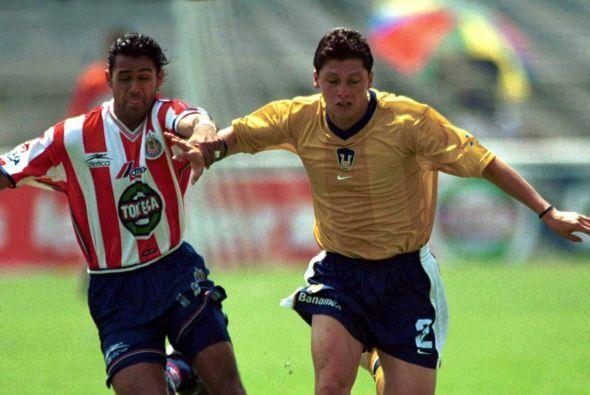 El Invierno del 2000 Pumas sumaría 1 victoria, 2 empates y una derrota p...