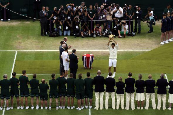 El tenista número tres del mundo conquistó por sépt...