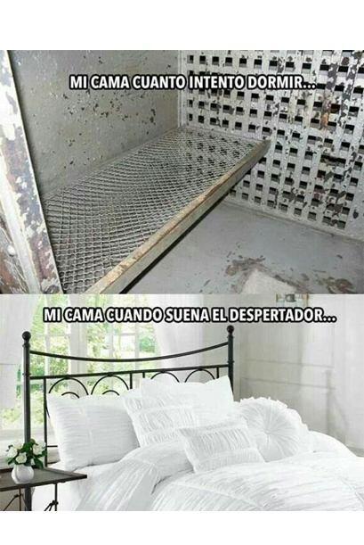 #UnOdioEternoA...Mi cama cuando trato de dormir.
