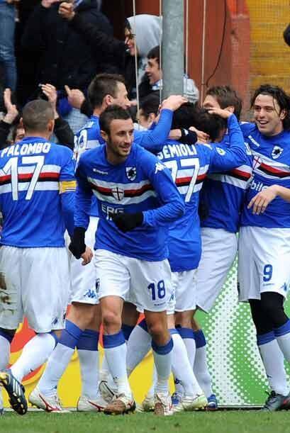 La Sampdoria hizo pesar su cancha y derrotó por 2-1 a la Lazio.