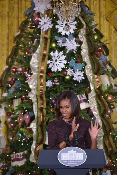 """De acuerdo con el mismo sitio este año el tema del árbol de Navidad es """"..."""