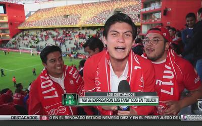 Los Destapados: Así se expresaron los fanáticos en Toluca