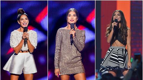 Alejandra Espinoza se lució con espectaculares cambios en la tarima de P...