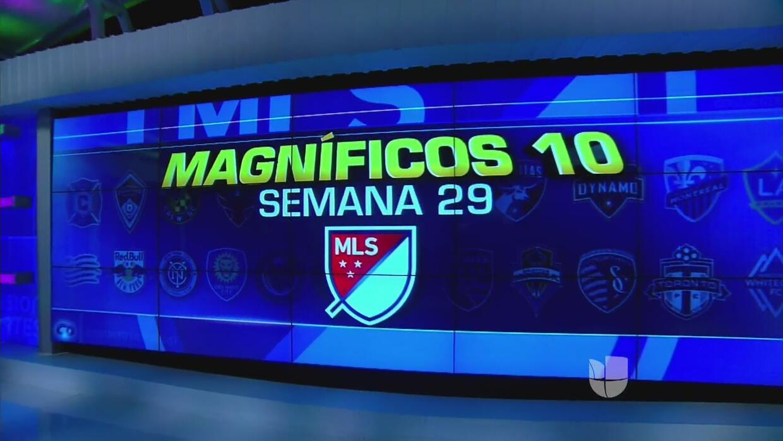 Los Magníficos 10 goles de la Jornada 29 de la MLS