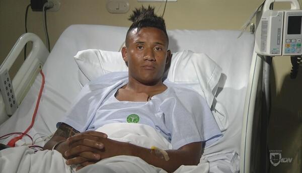 La vida de Luis Garrido corrió peligro debido a su lesión
