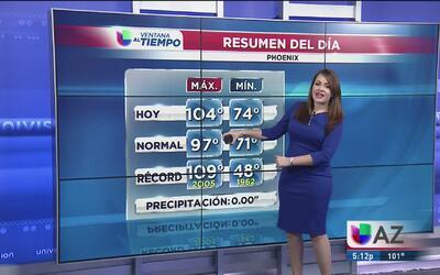 El termómetro en Phoenix rebasa los 100 grados
