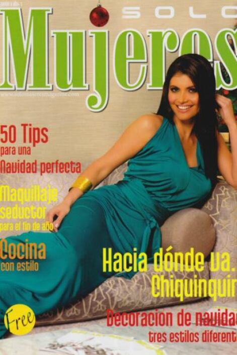 La portada de la revista 'Solo Mujeres' mostró el lado más femenino de e...