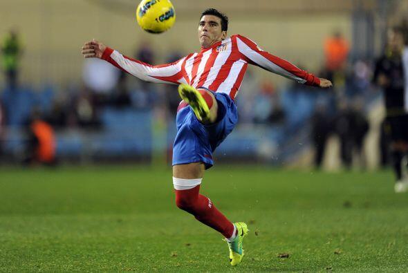 José Antonio Reyes tuvo una actuación destacada.