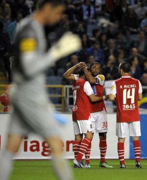 El Braga celebraba después de muchos años.