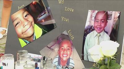 Pequeños son asesinados en un auto en LA