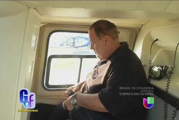 Ajustó su cinturón y se preparó para un viaje inolvidable.