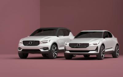 Conceptos de la Serie 40 de Volvo