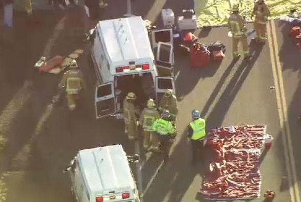 Inicialmente se reportó a 30 personas atendidas por heridas, fueron tras...