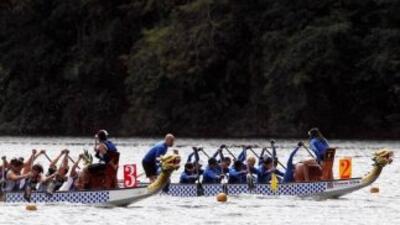 """dragon boat"" o canoas de remo"
