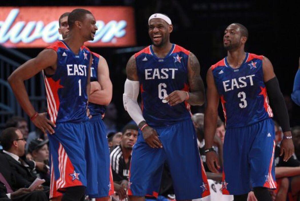 La Conferencia del Este tuvo a tres representantes del Miami Heat que ad...
