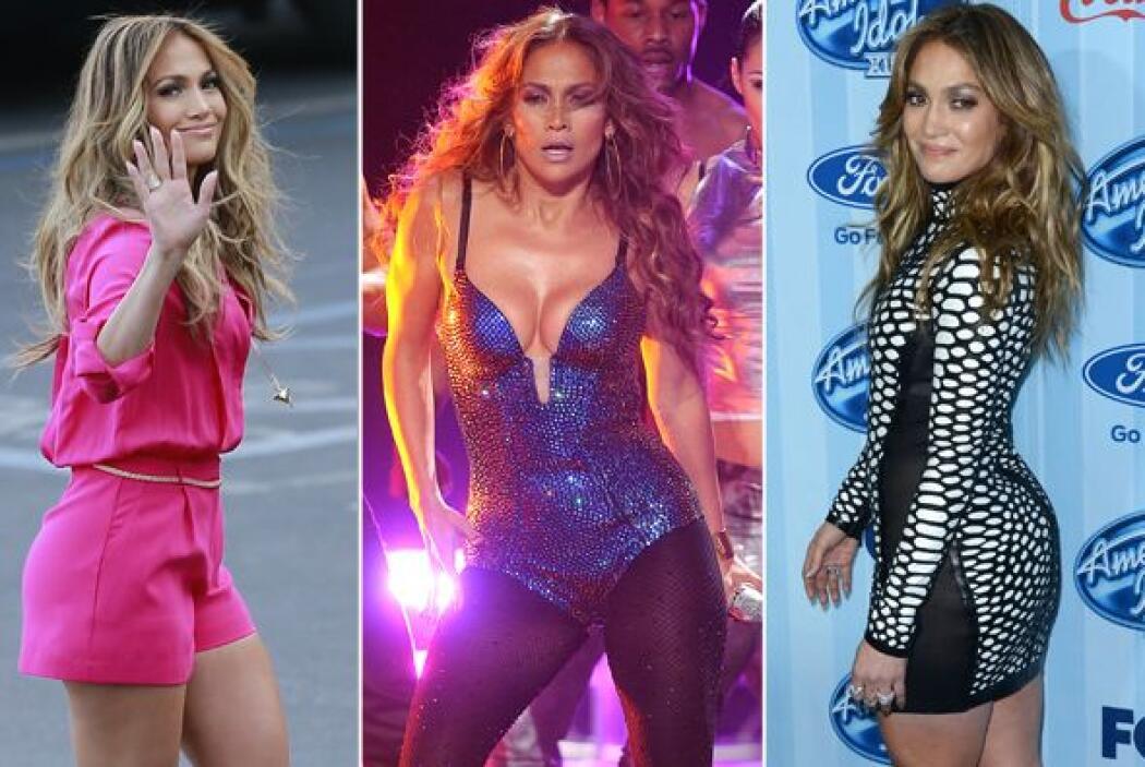 La cantante se pone súper sensual para hacer su papel de juez en el famo...