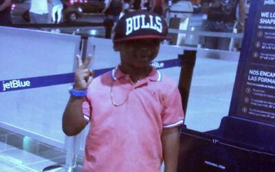 Andy Mercado subió a un avión en Santiago, Repúblic...