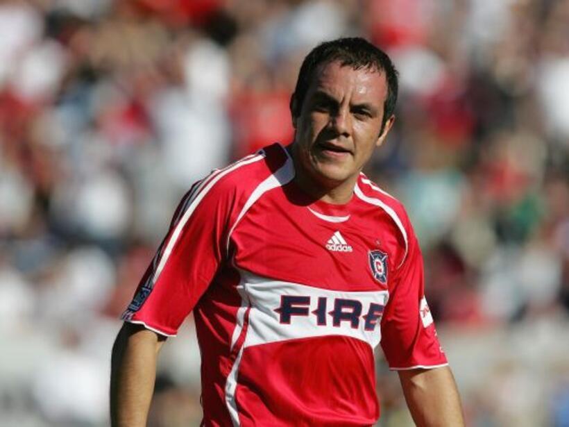 Para muchos el mejor 10 mexicano, el tres veces mundialista Cuauhtémoc B...