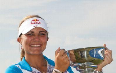 Lexi Thompson ese convirtió en la golfista más joven en ganar un torneo...