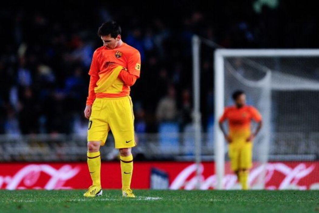 Decepción del Barcelona, poco acostumbrado a perder.