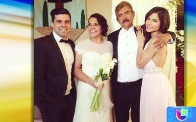 Los padres de Alejandra Espinoza se casaron luego de 40 años