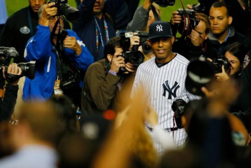 Ahora solo falta esperar cinco años para ver a Mariano Rivera en el Saló...