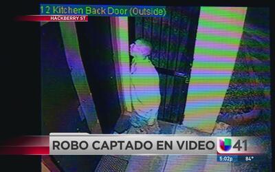 Entró a un restaurante a robar y fue captado en video