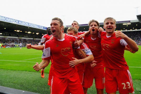 Southampton le sacó una importante victoria al West Bromwich a do...