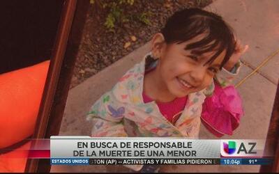 Familia devastada por trágica muerte de niña
