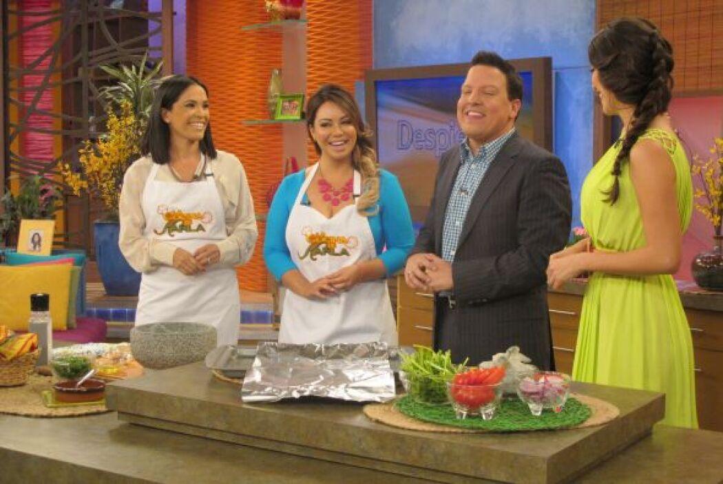 Y hasta la cocina de Karla llegó Chiquis, listísima para compartir el pl...