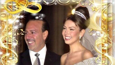 Thalía celebra 13 años de matrimonio con Tommy Mottola muy...
