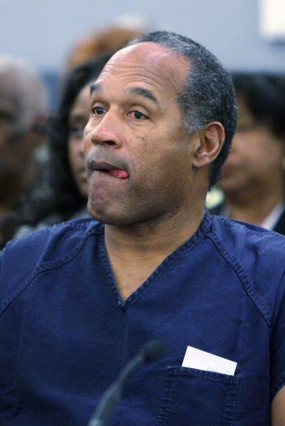 Simpson fue arrestado en Las Vegas en 2007 por otros delitos, entre ello...
