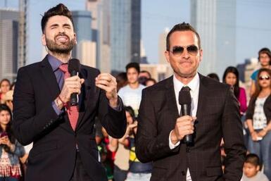 Lourdes, Carlos y Jomari hicieron un programa muy especial en Dallas, do...
