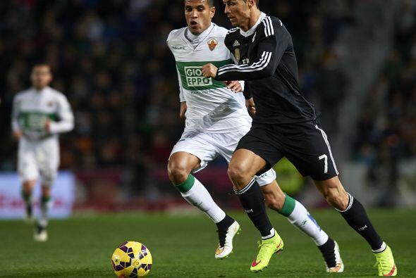 Ya en la segunda parte Cristiano Ronaldo Karim Benzema e Isco comandaron...