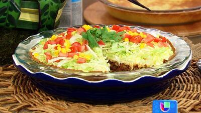 Receta de Pastel de Taco, en la cocina de Karla