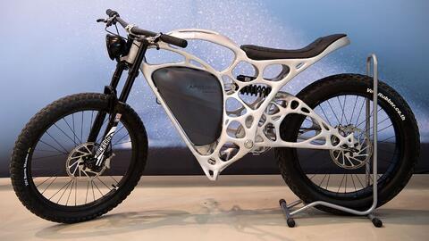 Esta es la primera moto eléctrica creada con impresión 3D