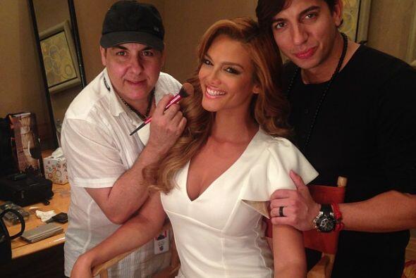 Rivera siempre está muy bien arregladita, ya que sabe que su imagen es m...